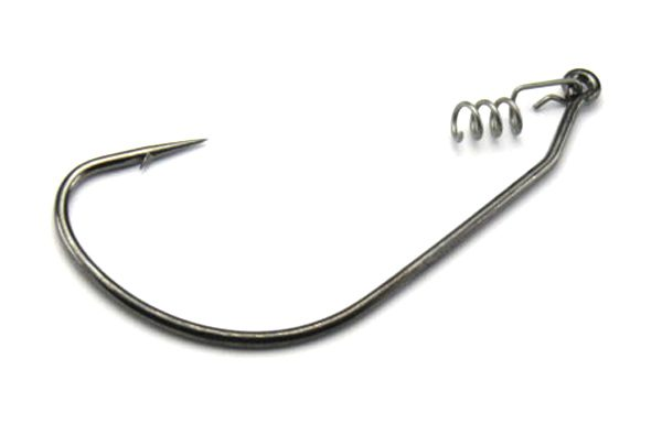 Mustad Wide Gape Hook - Size 4/0 (5pcs & hitch-hiker coils)