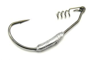 AGM Weighted Wide Gape Hook 2g - Size 1/0 (5pcs)