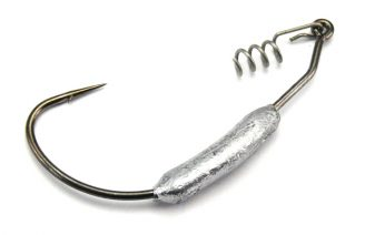 AGM Weighted Wide Gape Hook 3.5g - Size 2/0 (5pcs)