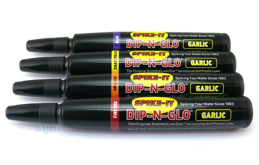SpikeIt-garlic-lure-markers