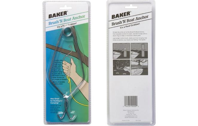 Baker Brush Anchor for Kayaks/Boats