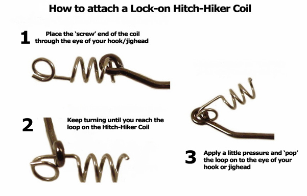AGM Hitch-Hiker Coil (Lock-on) - Large (10pcs)