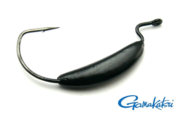 Big Bite Weighted EWG Hook 7g Black - Size 3/0 (4pcs)