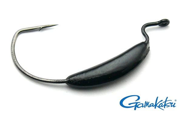Big Bite Weighted EWG Hook 7g Black - Size 4/0 (4pcs)