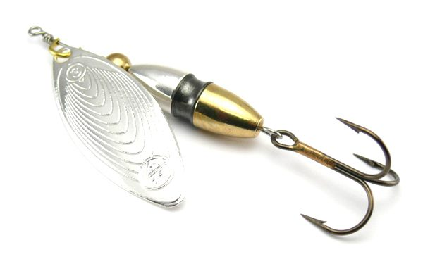 Hester Big Willow Spinner 23g - Silver/Brass