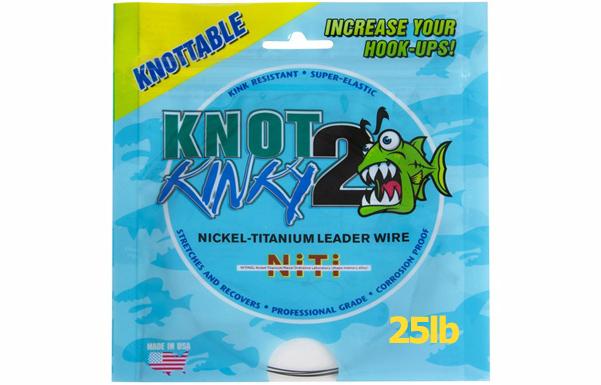 Knot2Kinky Nickel-Titanium Wire 25lb (11.3Kg)