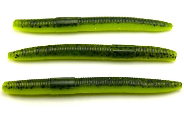 "AGM 4"" Stick Worm - Watermelon Chartreuse (8pcs)"