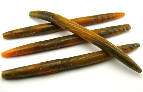 "AGM 5"" Stick Worm - Natural Craw (8pcs)"