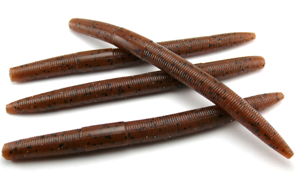 "AGM 5"" Stick Worm - Pumpkinseed (8pcs)"