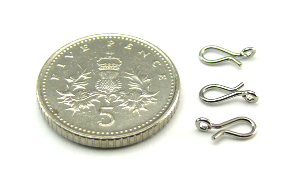 No Knot Large (7mm) Fas-Snap - Nickel (5pcs)