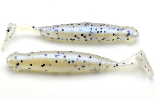 "AGM 2.5"" Paddler Grub - Blue Pearl Pepper (10pcs)"