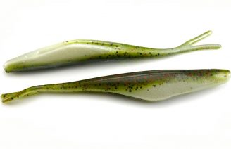 "Big Bite 6"" Jerk Minnow - Watermelon Red Ghost (10pcs)"