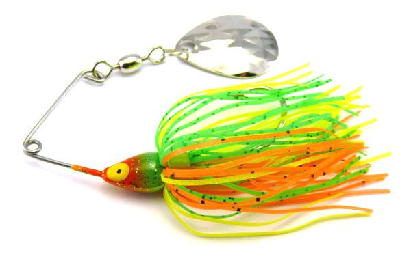 Strike King Mini King Spinnerbait 1/8oz (3.5g) - Firetiger
