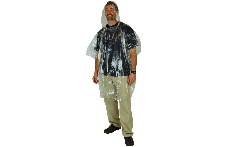 South Bend Emergency Waterproof Poncho - Clear