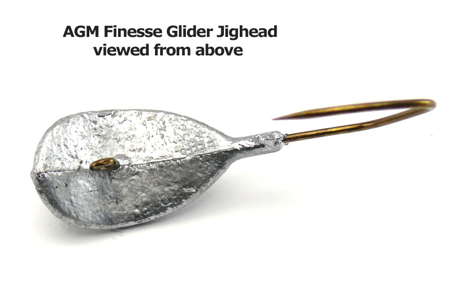 AGM Finesse Glider Jig Head 10.5g - Size 4/0 (5pcs)