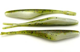 "Big Bite 4"" Jerk Minnow - Watermelon Red Ghost (10pcs)"