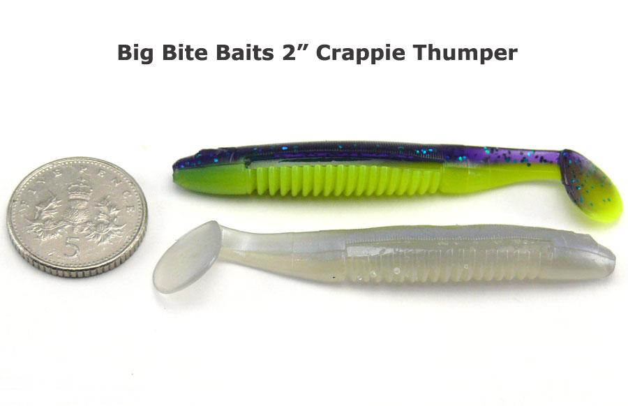 "Big Bite 2"" Crappie Thumper - Alewife (10pcs)"