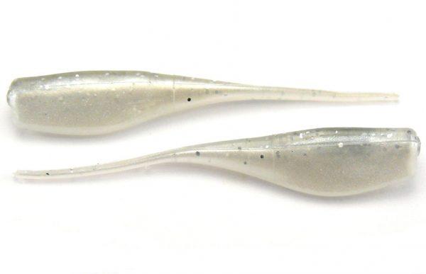 "Big Bite 2"" Crappie Minnr - Silver Glitter/Pearl (10pcs)"