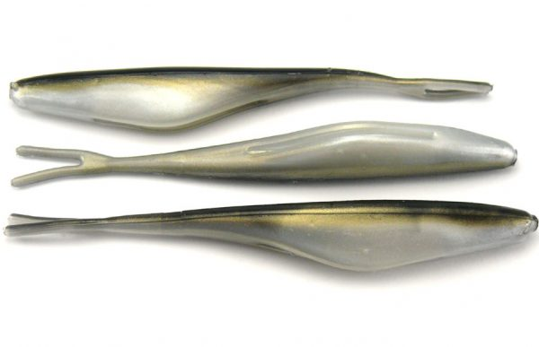"Big Bite 4"" Jerk Minnow - Reel Shad (10pcs)"