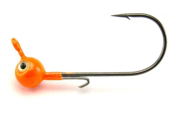 VMC Dominator Metal Jig Head 2g Orange - Size 1 (4pcs)