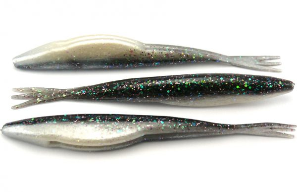 "Big Bite 5"" Triple Tail Jerk Minnow - Eufaula Special (10pcs)"
