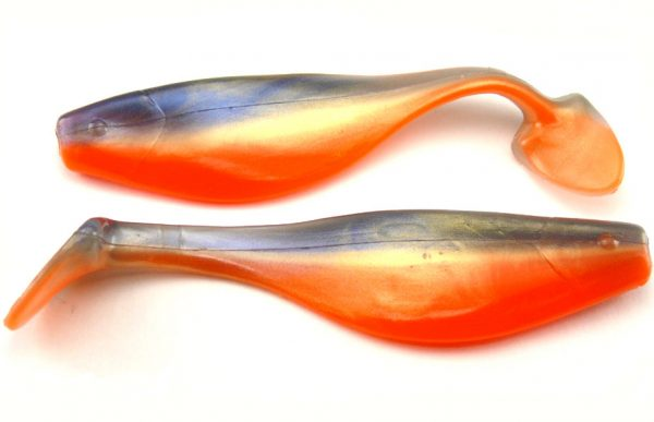 "Big Bite 4"" Shad - Gold Shad (5pcs)"
