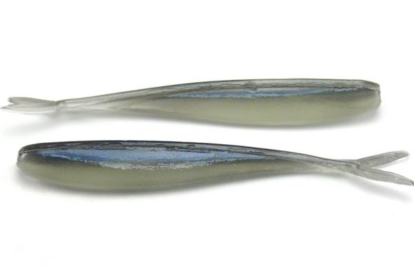 "Lunker City 2.5"" Fin-S Fish - Alewife/Glo Belly (20pcs)"