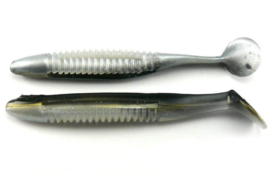 "Big Bite 3.5"" Cane Thumper - Reel Shad (8pcs)"