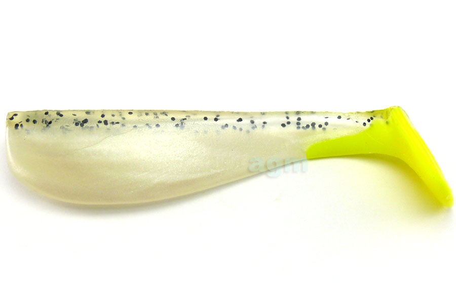 "Big Hammer 5"" Hand Poured Swimbait - Silver Phantom (4pcs)"