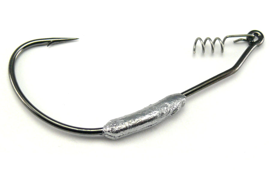 AGM Weighted Wide Gape Hook 3.5g - Size 6/0 (5pcs)