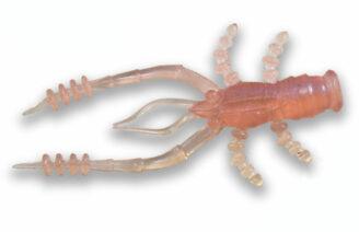 """Crazy Fish 1.8"""" Crayfish - 44 Pink Wakasagi (8pcs)"""