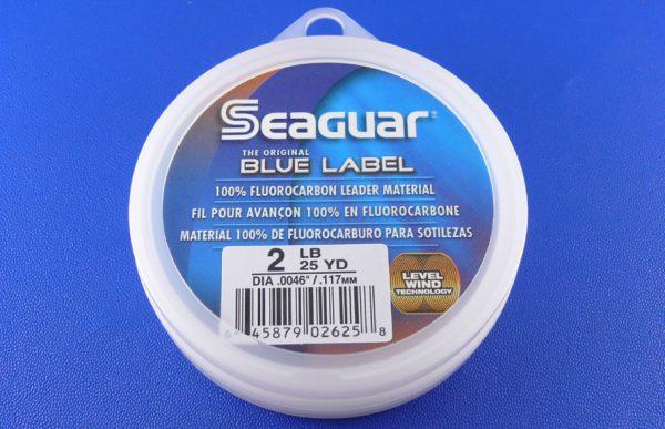 Seaguar Blue Label Fluorocarbon Leader - 2lb x 25yds (23mtrs)