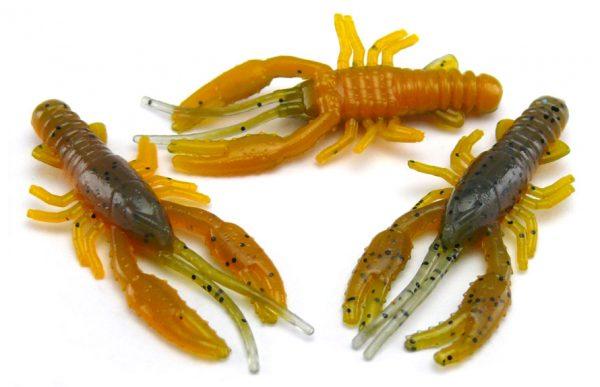 "AGM 1.5"" Micro Crayfish - Smokey Craw (10pcs)"