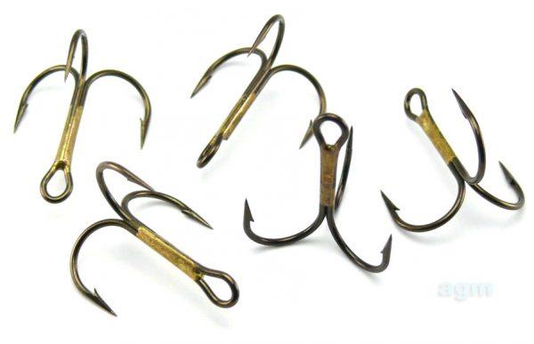 VMC 9649 BZ Treble Hook - Size 4 (10pcs)