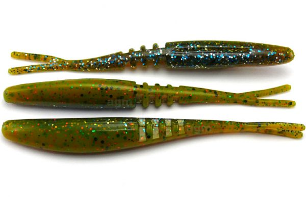 "Big Bite 3.75"" Jointed Jerk Minnow - Sunfish Laminate (10pcs)"