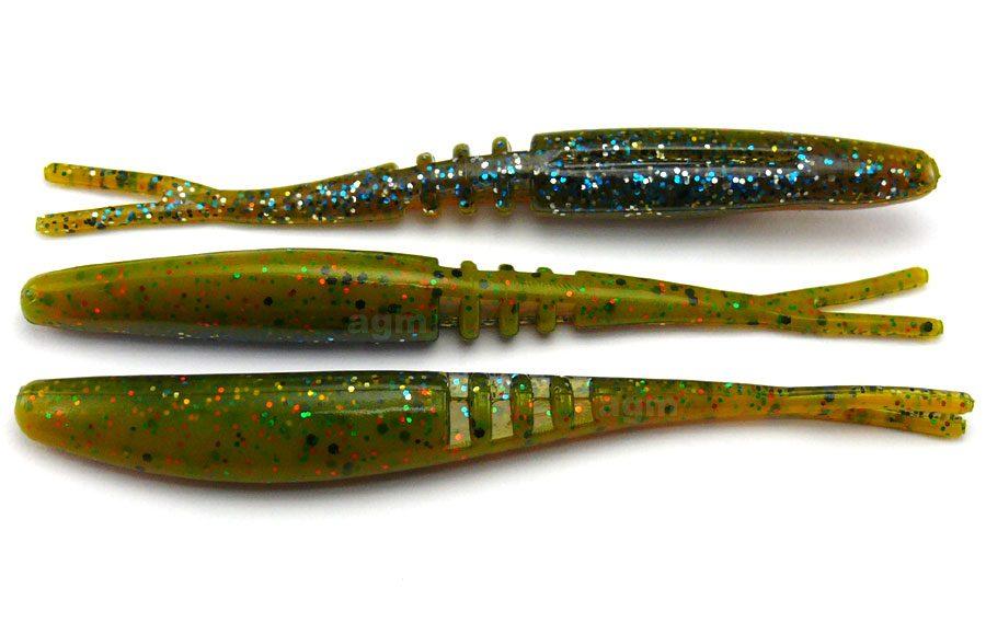 "Big Bite 3.75"" Jointed Jerk Minnow - Sunfish Laminate (10pcs)"