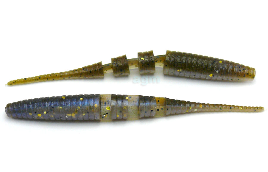 "Crazy Fish 4"" Floating Polaris - 3D Swamp/Pearl (6pcs)"