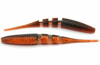 "Crazy Fish 4"" Floating Polaris - 8D Orange Coffee (6pcs)"