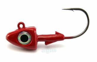 Hammer Head 10.5g Red - Size 2/0 (3pcs)