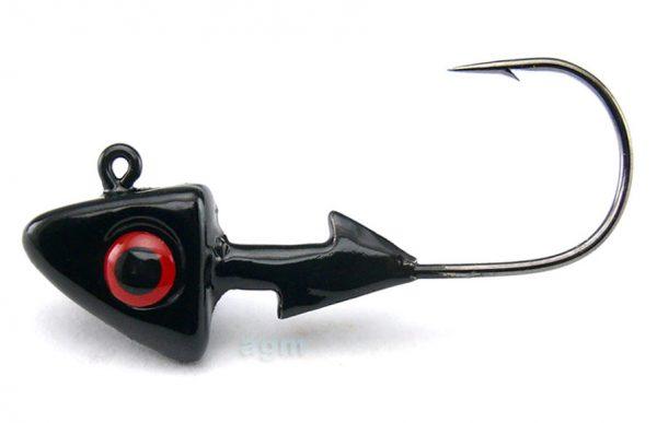 Hammer Head 5g Black - Size 2/0 (3pcs)