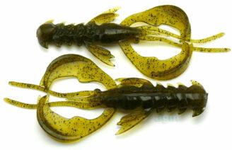 """Crazy Fish 4"""" Nimble - 26 Swamp (9pcs)"""