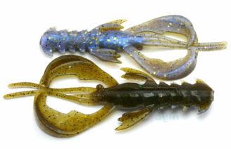 """Crazy Fish 4"""" Nimble - 3D Swamp Pearl (9pcs)"""