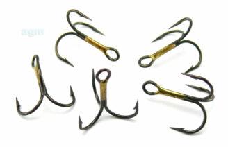 VMC 9649 BZ Treble Hook - Size 8 (10pcs)