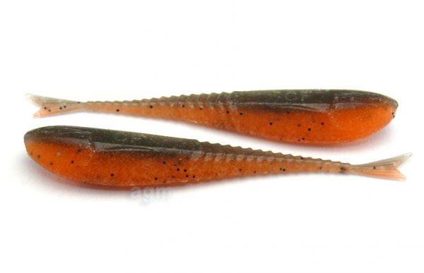 "Crazy Fish 2"" Floating Glider - 8D Orange Coffee (10pcs)"