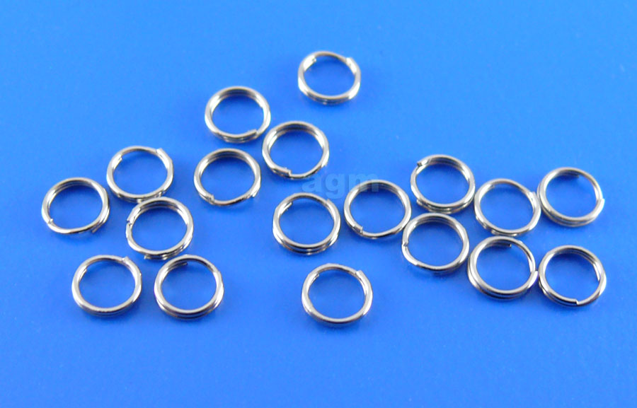 Crazy Fish UL Stainless Steel Split Ring 3.5mm/#4 (20pcs)