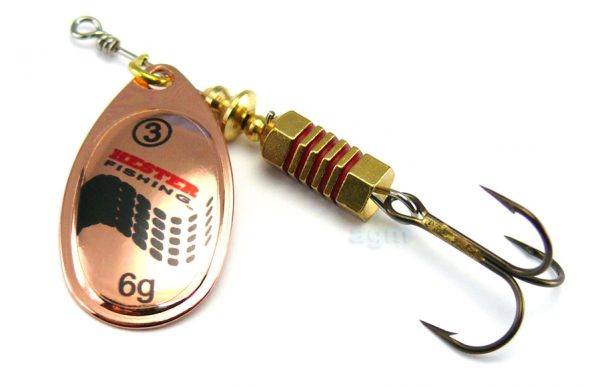Hester Style Spinner 6g - Copper