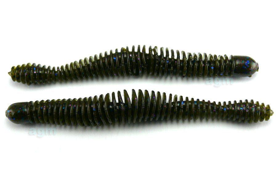 """Big Bite 4.75"""" Coontail Worm - Tilapia (7pcs)"""