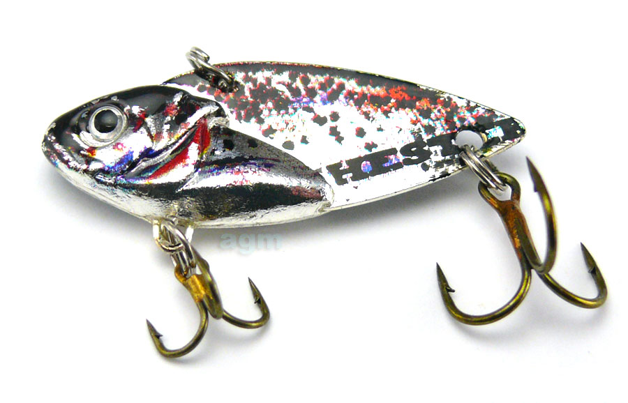 Hester Blade 10g - Speckled Silver Shad