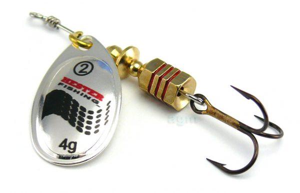 Hester Style Spinner 4g - Silver