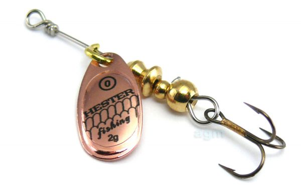Hester Ospray Spinner 2g - Copper